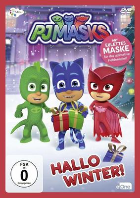 """Inklusive Eulettes Maske: Wir verlosen die neuen Abenteuer zu """"PJ Masks - Hallo Winter!"""" auf DVD"""