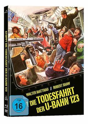 """Tödliche Spannung: Wir verlosen ein tolles Mediabook zum Klassiker """"Stoppt die Todesfahrt der U-Bahn 1-2-3"""""""