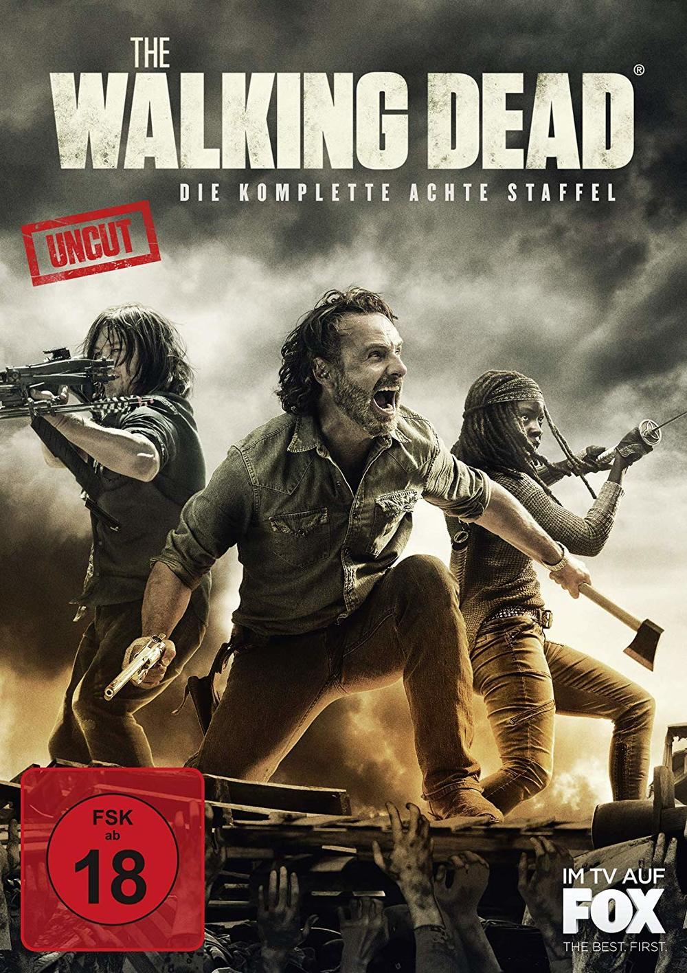 """Im Kampf gegen Zombies: Wir verlosen zum Heimkinostart von """"The Walking Dead"""" die komplette achte Staffel auf DVD und BD"""
