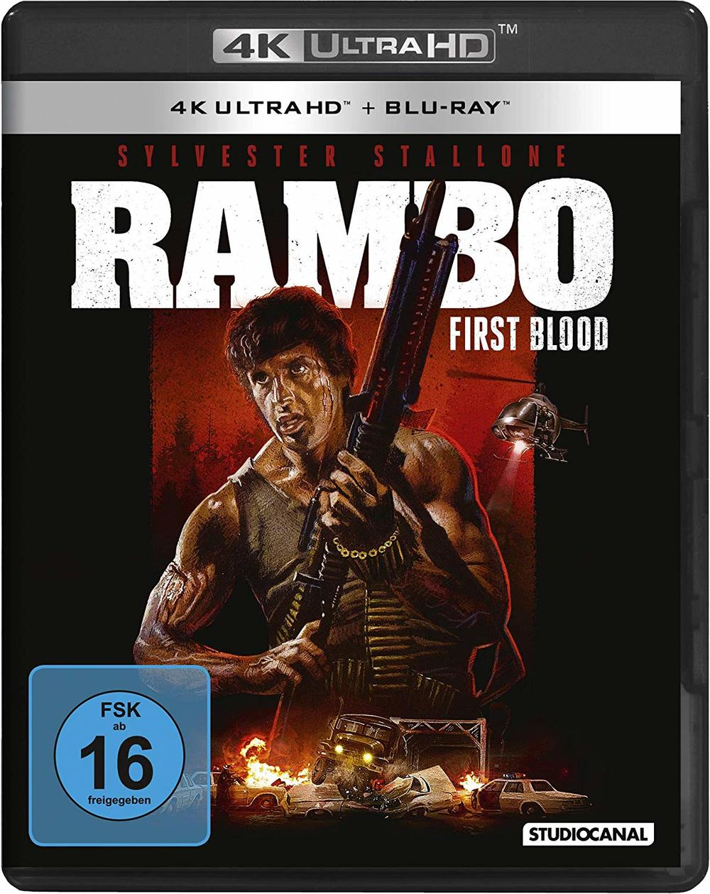 "Das volle Action-Paket: Wir verlosen ""Rambo"" 1-3 REMASTERED auf 4K Ultra HD Blu-Ray"
