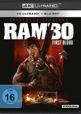 """Das volle Action-Paket: Wir verlosen """"Rambo"""" 1-3 REMASTERED auf 4K Ultra HD Blu-Ray"""