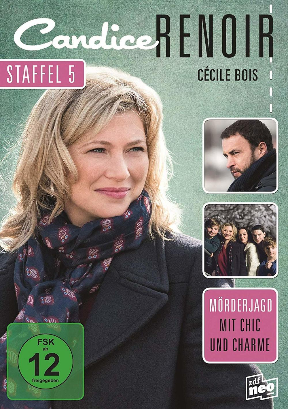 """Möderjagd mit Chic und Charme: Wir verlosen zum Heimkinostart der fünften Staffel """"Candice Renoir"""" eine DVD"""