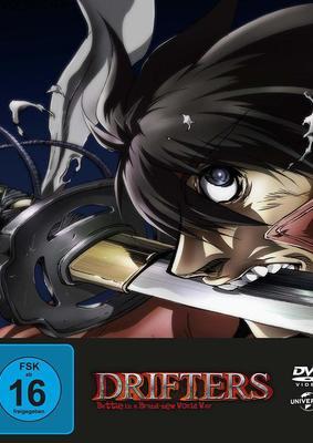 """Helden im Kampf für die Zukunft: Wir verlosen zum Kult-Anime """"Drifters Series 1 - Battle in a Brand-new World War"""" eine limitierte DVD oder BD"""