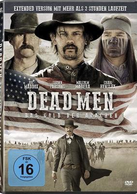 """Gold und Macht: Wir verlosen den Action-Western """"Dead Men - Das Gold der Apachen"""" auf DVD"""