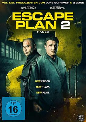 """Volle Action-Packung: Wir verlosen """"Escape Plan 2: Hades"""" mit Sly Stallone auf DVD und BD"""