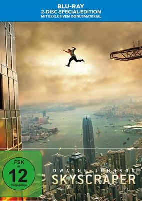 """Dwayne Johnson macht auf """"Die Hard"""": Wir verlosen """"Skyscraper"""" auf BD und als Steelbook"""