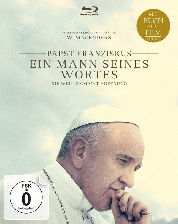 """Wir verlosen die Papst-Doku """"Papst Franziskus - Ein Mann seines Wortes"""" auf BD"""