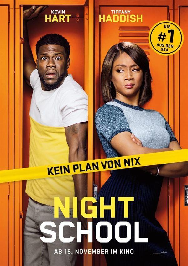 """Kein Plan von nix: Wir verlosen zum Kinostart von """"Night School"""" mit Kevin Hart die Filmposter"""