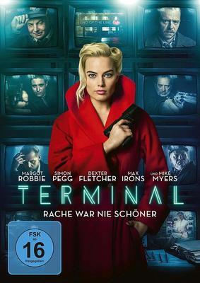 """Neo-Noir mit Margot Robbie und Simon Pegg: Wir verlosen """"Terminal"""" auf DVD"""
