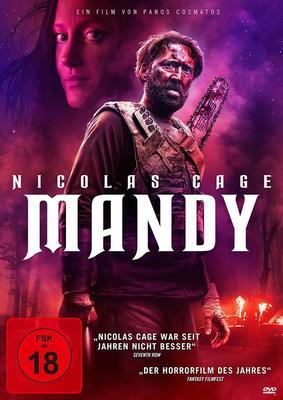"""Blutig, sphärisch, besonders: Wir verlosen """"Mandy"""" mit Nicolas Cage auf DVD und BD"""