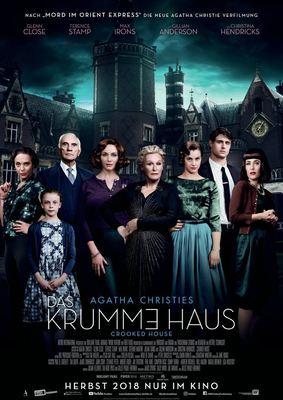 """Wir verlosen zum Kinostart von """"Das Krumme Haus"""" Fanpakete (inkl. Freikarten und Hörbuch)"""