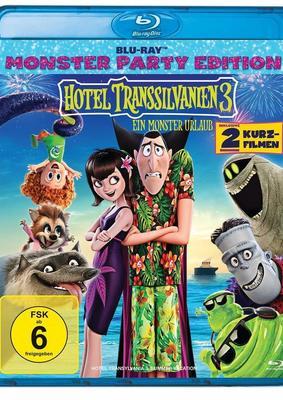 """Wir verlosen die Animations-Erfolg """"Hotel Transsilvanien 3 - Ein Monster Urlaub"""" auf BD"""