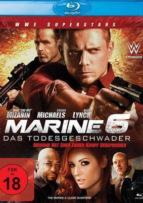 """Action mit den WWE-Stars The Miz und Shawn Michaels: Wir verlosen """"Marine 6: Das Todesgeschwader"""" auf BD"""
