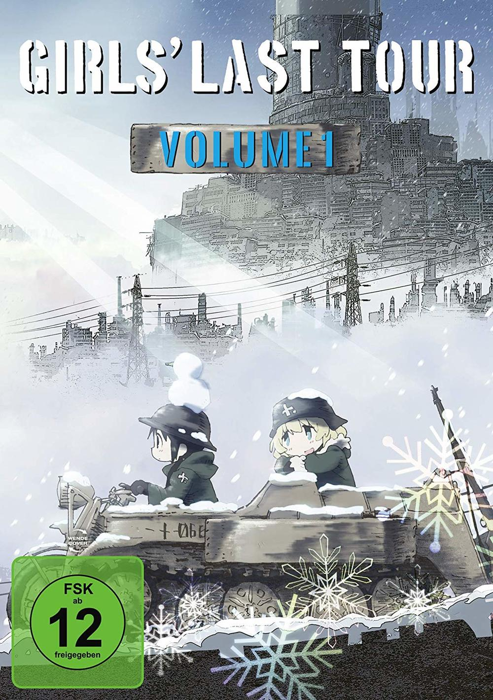 """Die Abenteuer von Chito und Yuuri: Wir verlosen Vol. 1 von """"Girls' Last Tour"""" auf DVD und BD"""