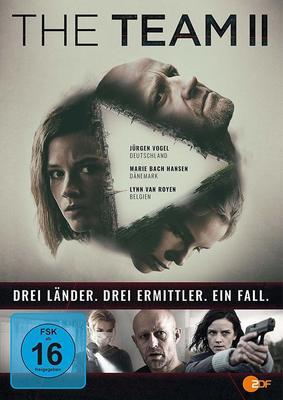 """Drei Länder. Drei Ermittler. Ein Fall: Wir verlosen """"The Team"""" Staffel 2 auf DVD und BD"""