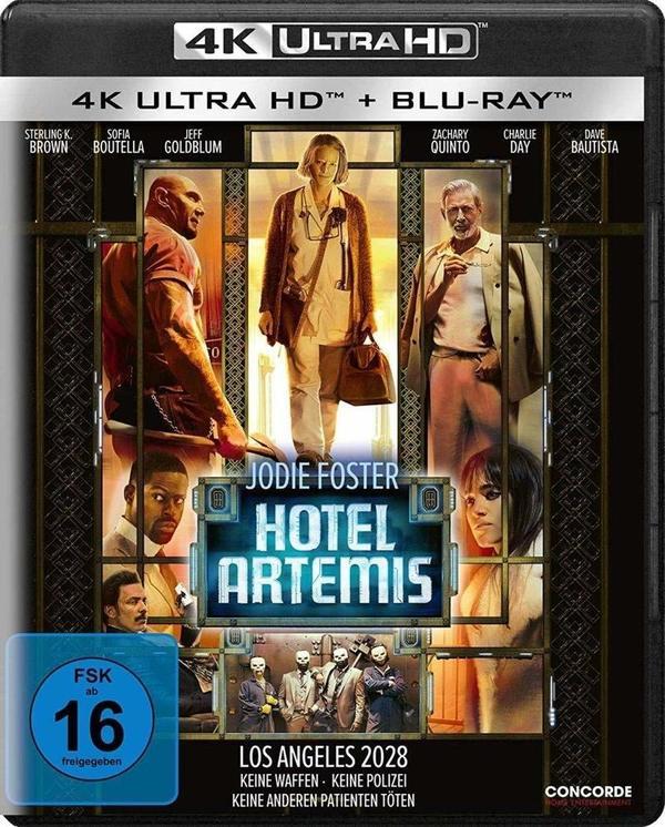 """Los Angeles 2028: Wir verlosen zum Actioner """"Hotel Artemis"""" eine BD oder 4K UHD"""