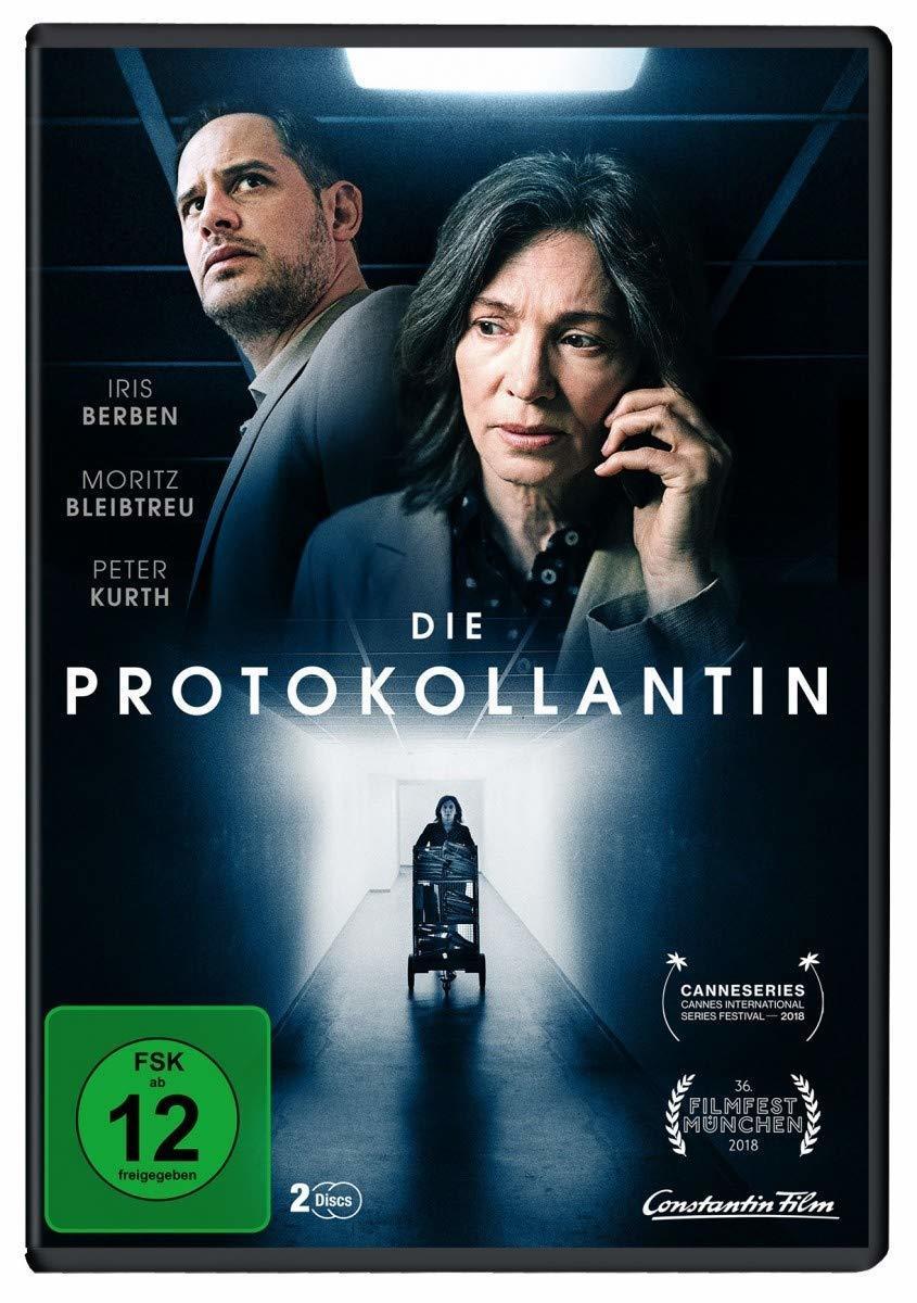 """Töten gehört zum Protokoll: Wir verlosen die Mini-Serie """"Die Protokollantin"""" mit Iris Berben auf DVD"""