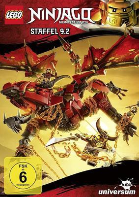 Im Land der Drachen: Wir verlosen LEGO Ninjago - Staffel 9.2 auf DVD sowie die passenden Hörspiele 35 und 36