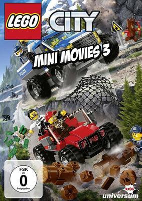 """Rock 'n' Roll: Wir verlosen """"Lego City Mini Movies"""" 3 auf DVD"""