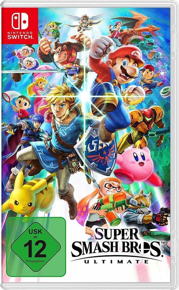 """Zum Release von """"Super Smash Bros. Ultimate"""" verlosen wir zwei Spiele für Nintendo Switch!"""