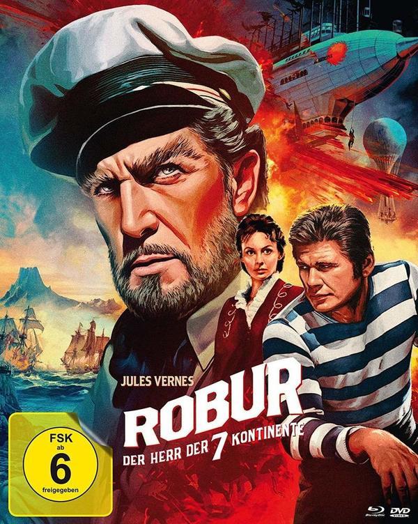 """Nach Jules Vernes: Wir verlosen den Genre-Klassiker """"Robur - Der Herr der sieben Kontinente"""" auf BD"""