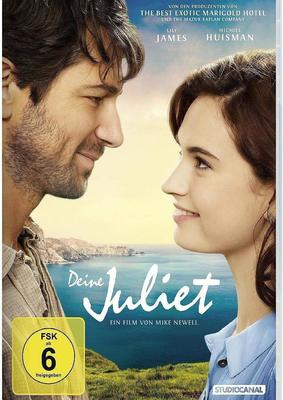 """Wir verlosen die Romanze """"Deine Juliet"""" auf DVD und packen noch ein Buch und ein Poster dazu"""