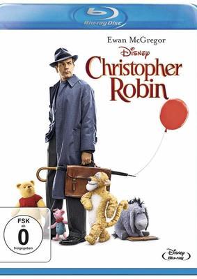 """Für gute Laune und gegen den Regen: Wir verlosen """"Christopher Robin"""" auf BD + Regenschirm"""
