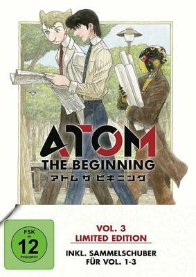 """Auf dem Weg zum digitalen Bewusstsein: Wir verlosen zum Start von """"Atom the Beginning Vol.3"""" ein tolles Fan-Paket"""