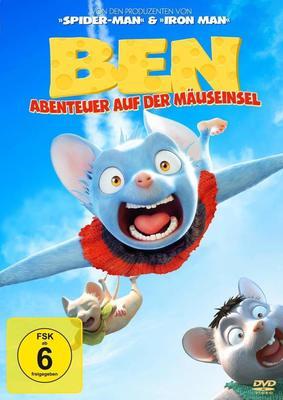 """Ein tierisches Abenteuer: Wir verlosen zum Animationsfilm """"Ben - Abenteuer auf der Mäuseinsel"""" eine DVD oder BD"""