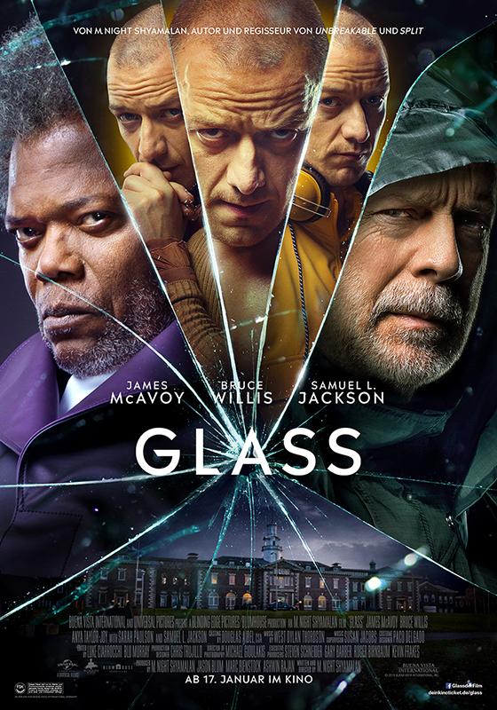 """Von Helden und Schurken: Zum Kinostart von """"Glass"""" verlosen wir tolle Fan-Pakete"""