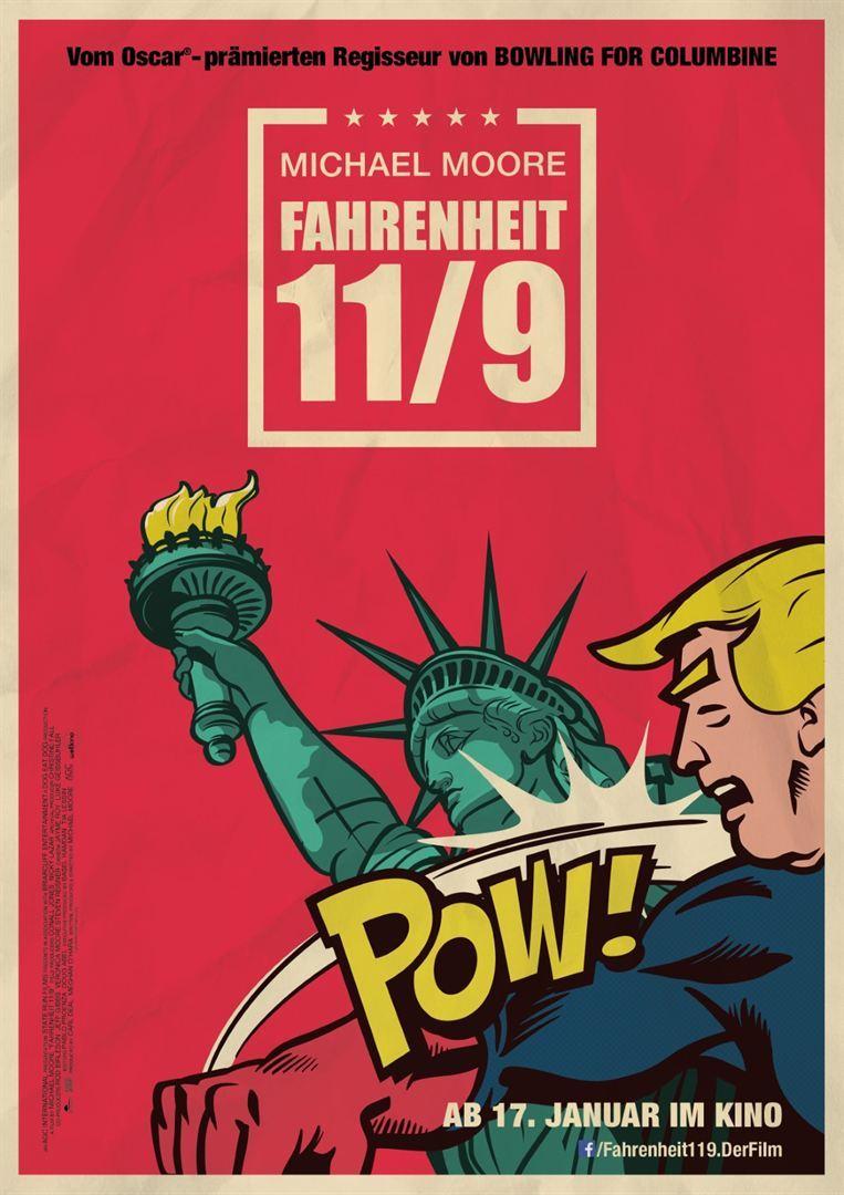 """Eine Abrechnung: Zum Kinostart von """"Fahrenheit 11/9"""" verlosen wir Freikarten"""