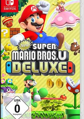 "Wir verlosen das Game ""New Super Mario Bros. U Deluxe"" für Nintendo Switch!"
