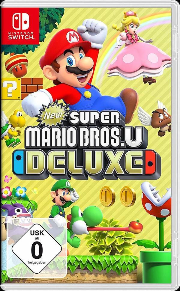 """Wir verlosen das Game """"New Super Mario Bros. U Deluxe"""" für Nintendo Switch!"""