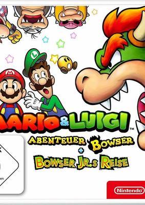 """Wir verlosen das Game """"Mario & Luigi: Abenteuer Bowser + Bowser Jr.s Reise"""" für Nintendo 3DS!"""
