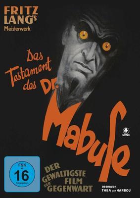 """Schrecken und Angst: Wir verlosen den deutschen Fritz Lang Klassiker """"Das Testament des Dr. Mabuse"""" als Mediabook"""