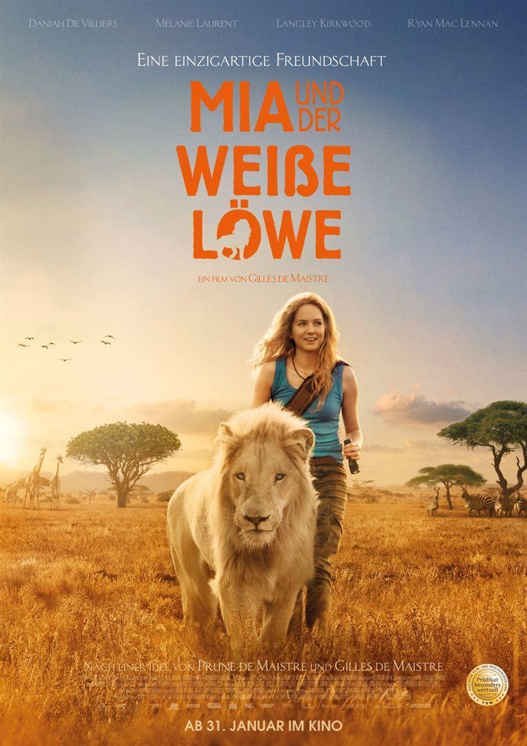 """Eine ungewöhnliche Freundschaft: Zum Kinostart von """"Mia und der weiße Löwe"""" verlosen wir ein Fan-Paket"""