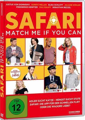 "Beziehungschaos im Großstadtdschungel: Wir verlosen ""Safari - Match Me if You Can"" auf DVD und BD"