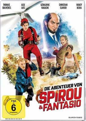 """Wir verlosen den phantastischen Kinderfilm """"Die Abenteuer von Spirou & Fantasio"""" auf DVD und BD"""