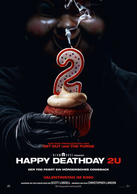 """Und täglich grüßt der Wahnsinn: Zum Kinostart von """"Happy Deathday 2U"""" verlosen wir ein Fan-Paket"""