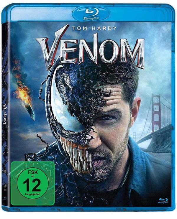 """Zum fressen gern: Wir verlosen den Blockbuster """"Venom"""" auf BD"""