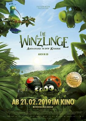 """Wir verlosen zum Kinostart von """"Die Winzlinge - Abenteuer in der Karibik"""" Freikarten"""