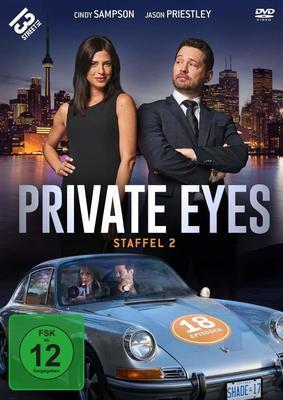 """Ein unschlagbares Ermittlerteam: Wir verlosen die 2. Staffel der Crime-Serie """"Private Eyes"""""""