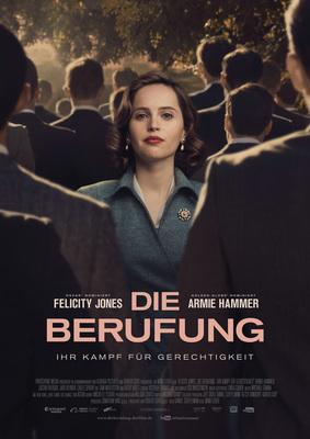 """Wir verlosen zum Kinostart von """"Die Berufung - Ihr Kampf für Gerechtigkeit"""" ein Fanpaket (inkl. Freikarten)"""