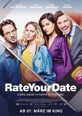 """Wir verlosen Fan-Pakete (inkl. Freikarten) zur Komödie """"Rate Your Date"""""""