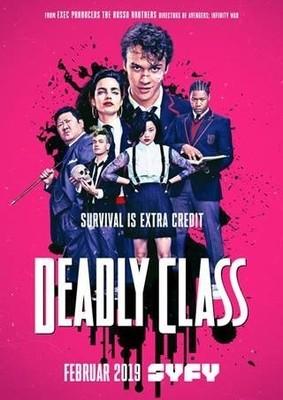 """Töten will gelernt sein: Wir verlosen zum Start der SyFy Action-Serie """"Deadly Class"""" ein tolles Fan-Paket"""