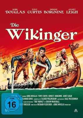 """Wir verlosen den Filmklassiker """"Die Wikinger"""" mit Tony Curtis und Kirk Douglas auf BD"""