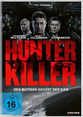 """Den mutigen gehört der Sieg: Wir verlosen zum Action-Thriller """"Hunter Killer"""" ein tolles Fan-Paket"""