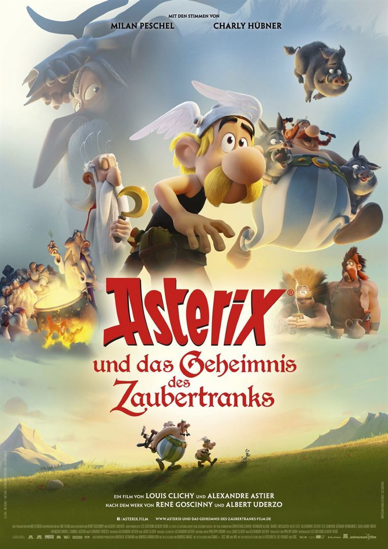 """Beim Teutates: Wir verlosen zum Kinostart von """"Asterix und das Geheimnis des Zaubertranks"""" ein tolles Fan-Paket"""
