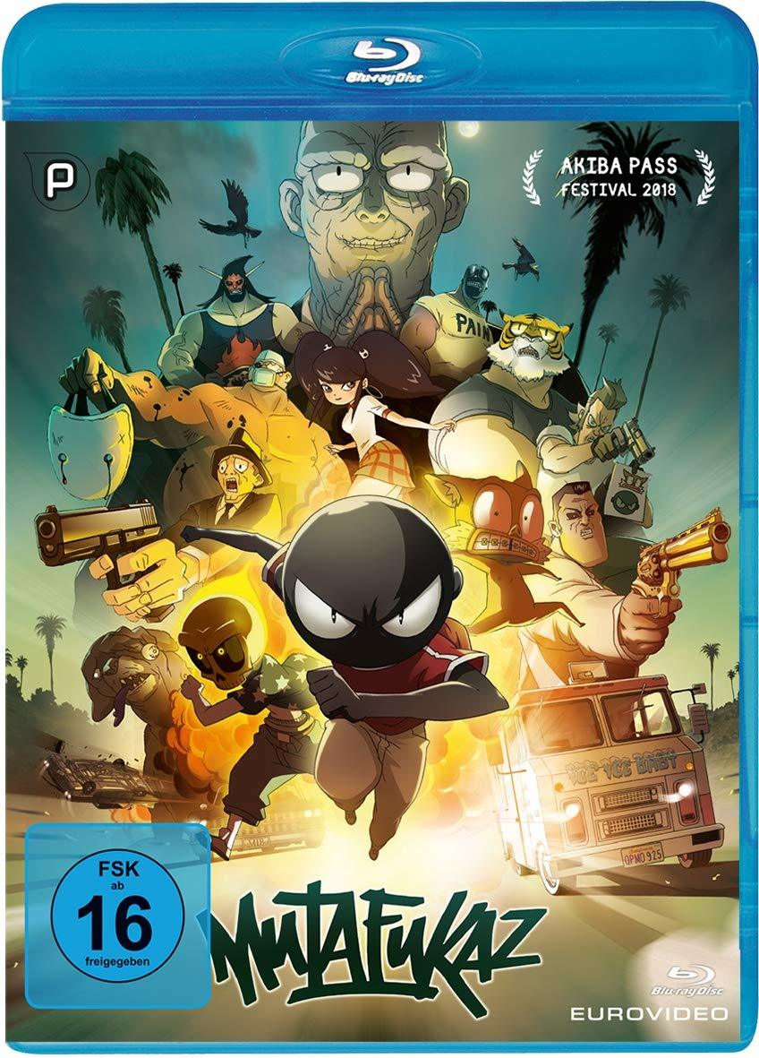 "Welcome to my fucked up city: Wir verlosen zum schrillen Animations-Highlight ""Mutafukaz"" eine BD"