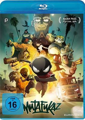 """Welcome to my fucked up city: Wir verlosen zum schrillen Animations-Highlight """"Mutafukaz"""" eine BD"""